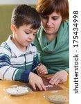 boy doing homework | Shutterstock . vector #175434998