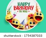 Happy Birthday Smiley Emoji...