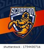 Scorpion Mascot Esport Logo...