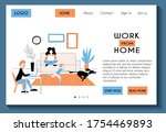 web page template for work from ...