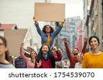 Group of multiethnic people on...