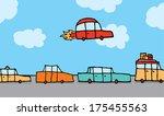 cartoon illustration of a... | Shutterstock .eps vector #175455563