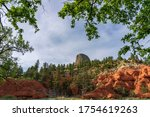Devils Tower Appears Magically...