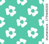 seamless pattern with a... | Shutterstock .eps vector #1754640203