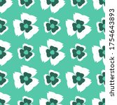 seamless pattern with a... | Shutterstock .eps vector #1754643893