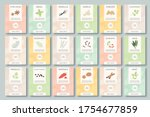 spices labels. different... | Shutterstock .eps vector #1754677859