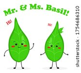 Mister And Missis Basil Cute...