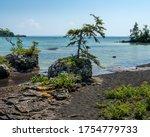 Rugged North Shore Of Lake...