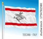 toscana official regional flag  ... | Shutterstock .eps vector #1754782580