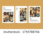 retro geometric cover...   Shutterstock .eps vector #1754788706