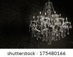 Luxurious Crystal Chandelier...