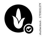 Corn  Icon Or Logo Isolated...