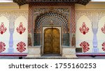 Lotus Door At Jaipur City...