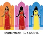 beautiful asian woman in...   Shutterstock .eps vector #175520846