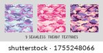 vector camouflage pattern for... | Shutterstock .eps vector #1755248066