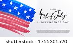 fourth of july. 4th of july... | Shutterstock .eps vector #1755301520