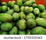 Fresh Mangoes On Display At...