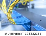 data transfer by optical fibre...   Shutterstock . vector #175532156
