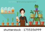 new normal self sustaining... | Shutterstock .eps vector #1755356999