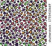 Glitter Leopard Design  ...