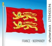 Normandy Official Regional Flag ...