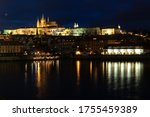 Prague Skyline Panorama. Czech...