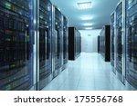 modern network and... | Shutterstock . vector #175556768