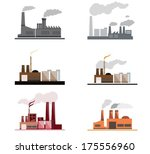 industrial and building icons... | Shutterstock .eps vector #175556960
