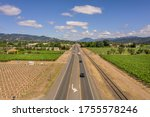 Napa Valley Freeway During The...