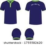 t shirt design uniform t shirt...   Shutterstock .eps vector #1755582620
