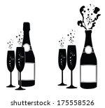 vector illustrations of several ... | Shutterstock .eps vector #175558526