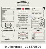 Restaurant Menu Design - (2317 Free Downloads)