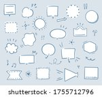 this is handwriting...   Shutterstock .eps vector #1755712796