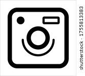 camera icon for mobile ui or...