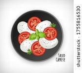 Caprese Salad  Basil  Oregano...