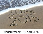 new year 2015 is coming concept ... | Shutterstock . vector #175588478