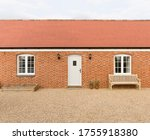 Small photo of Single storey (story) new build house or granny annexe (annex), part of a UK home extension