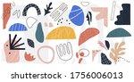 big set of hand drawn various... | Shutterstock .eps vector #1756006013