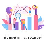 company project big data ...   Shutterstock .eps vector #1756028969