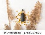 Black Matte Cosmetic Bottle...