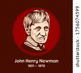 John Henry Newman (1801-1890) was an English theologian and poet, first an Anglican priest and later a Catholic priest and cardinal.