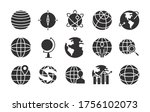 geography tool and global... | Shutterstock .eps vector #1756102073