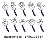 Cartoon Hand Counting. Funny...