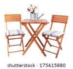 Garden Chairs And Table...