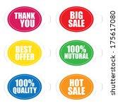 thank you  best offer  100... | Shutterstock . vector #175617080