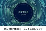 concentric abstract vector...   Shutterstock .eps vector #1756207379