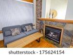 interior design of a luxury... | Shutterstock . vector #175624154
