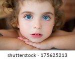 Big Blue Eyes Toddler Girl...