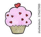 cartoon cupcake | Shutterstock . vector #175637000