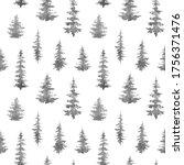 watercolor seamless pattern...   Shutterstock . vector #1756371476